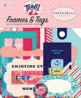 Let's Travel Frames & Tags Ephemera