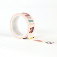 Travel Destinations Decorative Tape