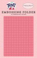 Grid Embossing Folder