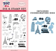 Let's Go! Die & Stamp Set