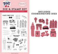 Adventure Begins Here Die & Stamp Set