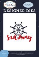 Sail Away Ship Wheel Die Set