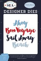 Bon Voyage Word Die Set