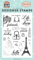 Fashionista Stamp Set