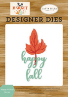 Happy Fall Leaf Die Set