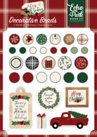 A Cozy Christmas Decorative Brads