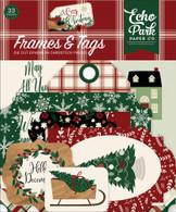 A Cozy Christmas Frames & Tags Ephemera