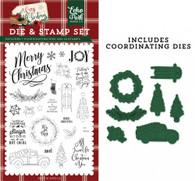 Let's Get Cozy Die & Stamp Set