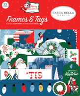 Merry Christmas Frames & Tags Ephemera
