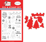 Oh What Fun Die & Stamp Set