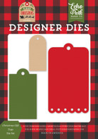Christmas Gift Tags Die Set