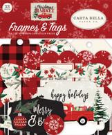 Christmas Market Frames & Tags Ephemera