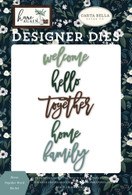 Home Together Word Die Set