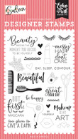 Messy Hair, Don't Care Stamp Set