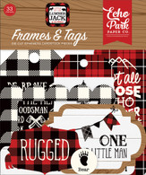 Little Lumberjack Frames & Tags Ephemera
