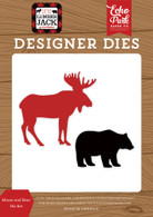 Moose and Bear Die Set