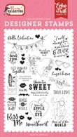 Hello Valentine Stamp