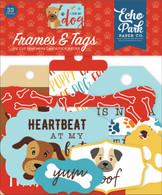 I Love My Dog Frames & Tags Ephemera