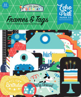 It's Your Birthday Boy Frames & Tags Ephemera