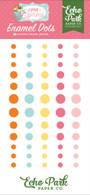 I Love Spring Enamel Dots