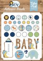 Baby Boy Adhesive Brads