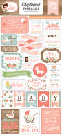 Baby Girl Chipboard Phrases