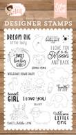 Dream Big Little Lady Stamp Set