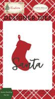 Santa Stocking Die Set