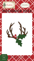 Antlers & Holly Die Set