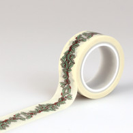 Holly Berry Decorative Tape