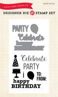 Party Time Die/Stamp Set