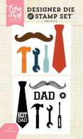 Dad Stamp/Die Set