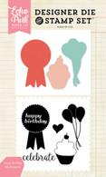 Happy Birthday Stamp/Die Set