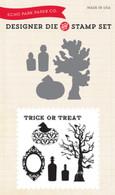 Apothecary Halloween Die/Stamp Set