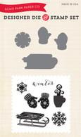 Let it Snow Die/Stamp Set
