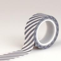 Navy Stripe Decorative Tape