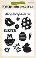 Some Bunny Loves Me 4x6 Stamp