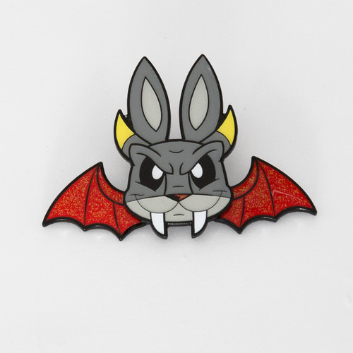 Demon Bunny pin