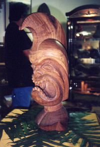 Hawaiian Ali'i (high chief) Bust