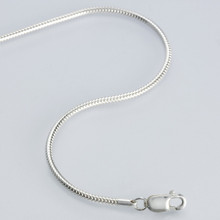 Sterling Silver 1.4mm Round Unseamed Snake Chain