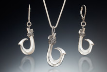Single Barb (Kauai Style) Collection, in sterling silver