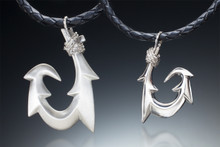 Six-Barb (Maui Style) Collection, in sterling silver