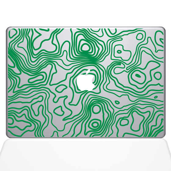 Abstract Mac Decal Sticker