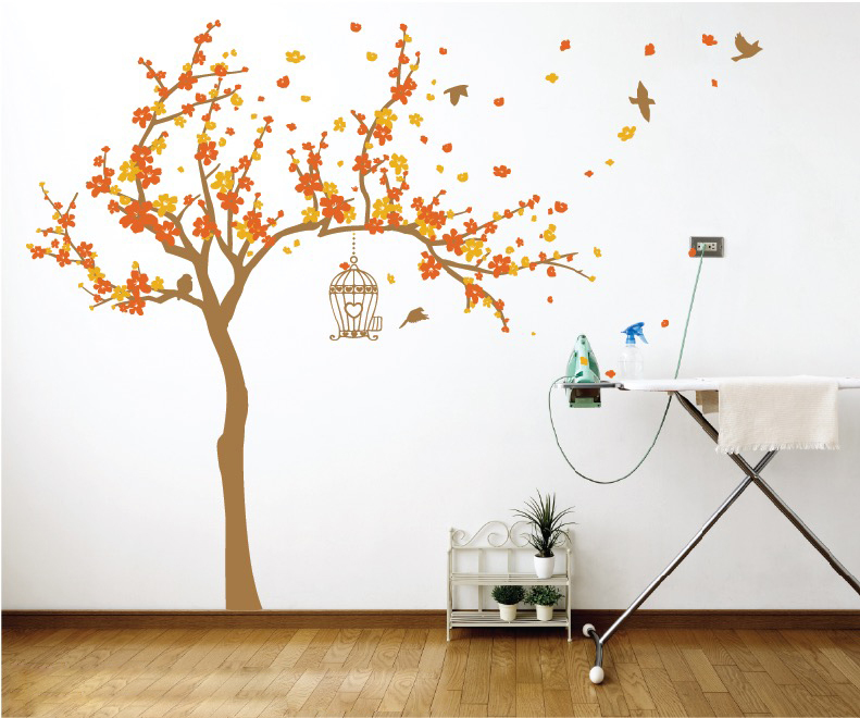 FLoral Quote Wall Decal Sticker