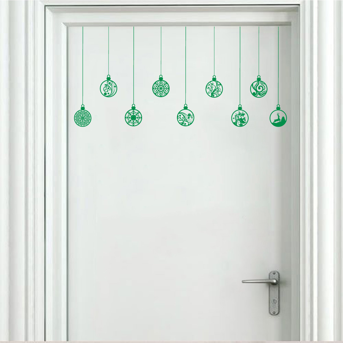 Ornament holiday wall sticker