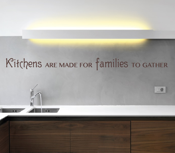 Kitchens Are Made For Quote Wall Decal