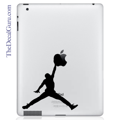 Air Jordan iPad Wall Decal Sticker