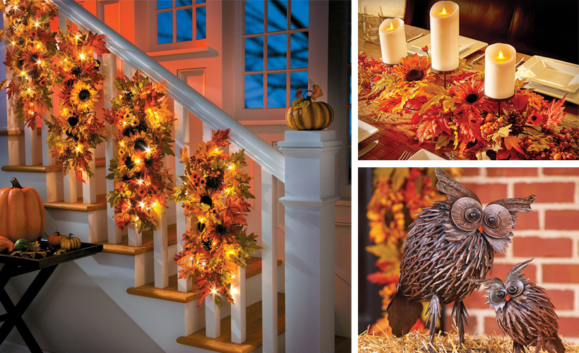 7 Ways To Introduce The Fall Season Into Your Interior