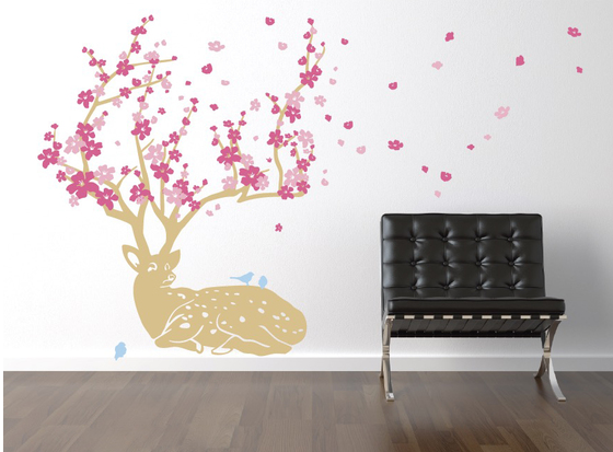 6 awesome ideas for bringing the outdoors indoors with wall decals the decal guru