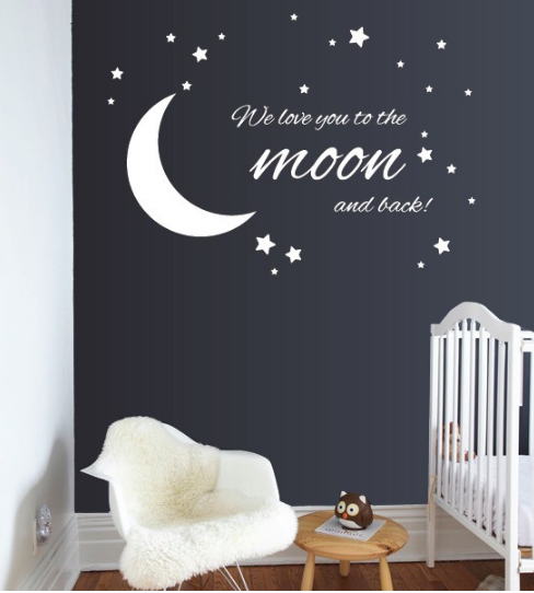 Nursery Quote Wall Decal Sticker